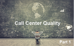 Call Center Quality Assurance