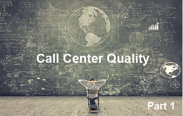 Call Center Quality Get Results Part 1 1 - How To Avoid The 4 Barriers to A Winning Call Center Quality Program And Start Getting Consistent Results